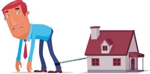 Mensen met aflossingsvrije hypotheek klem