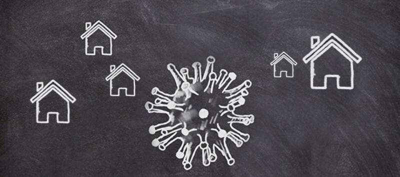 Coronavirus op de huizenmarkt