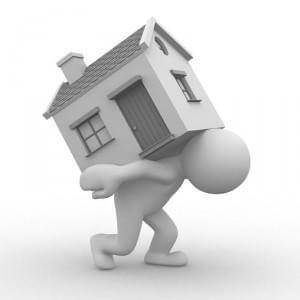 Een huis kan soms ook echt een blok aan uw been zijn.