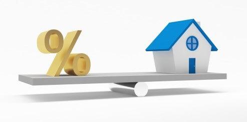 Hypotheekrente na ruim een jaar weer boven de 2%, gaan de huizenprijzen ook weer omlaag?