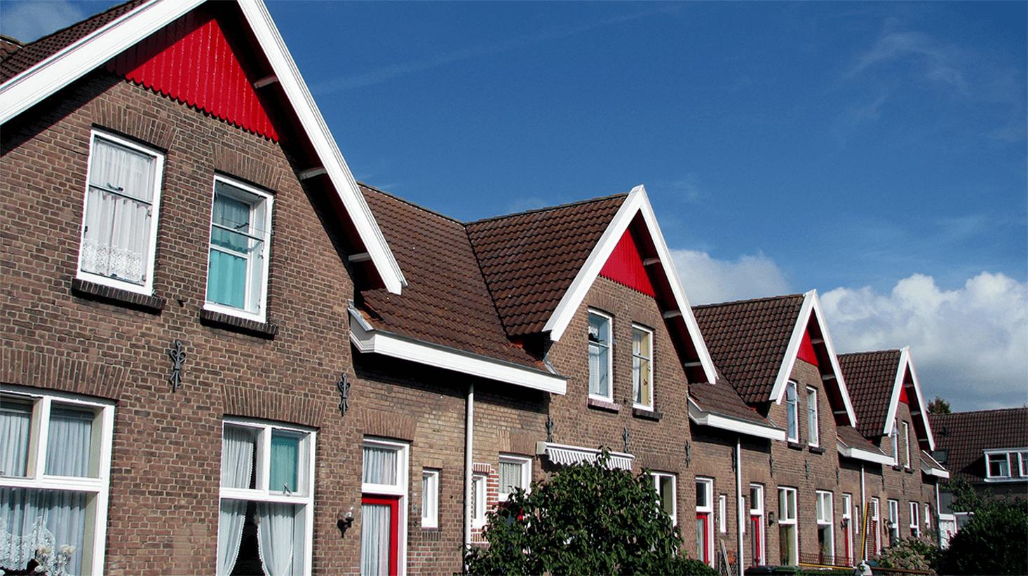 Makelaars die huizen opkopen